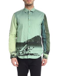 Paul Smith - Green shirt with photo print