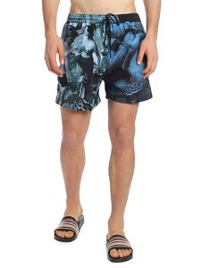 Paul Smith - Swim shorts with photo print