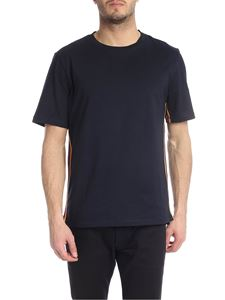 Paul Smith - Dark blue Paul Smith T-shirt with contrasting trim