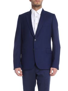 Paul Smith - Blue wool single-breasted jacket