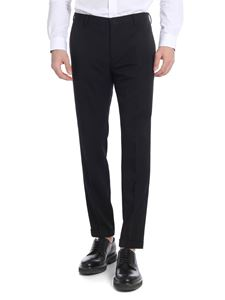 Paul Smith - Black cotton blend chino trousers