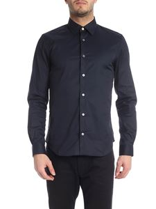 Paul Smith - Blue Kensington fit shirt