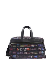Paul Smith - Black mini Film printed bag
