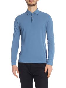 Zanone - Light blue Zanone polo shirt