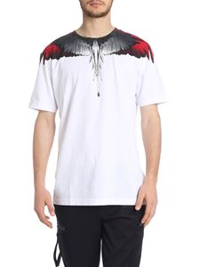 Marcelo Burlon - White cotton Wings T-shirt