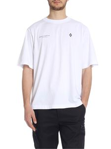 Marcelo Burlon - White cotton Punch T-shirt