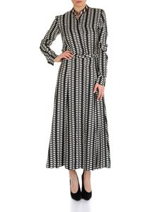 Gabriela Hearst - Mariano dress in black and white pattern