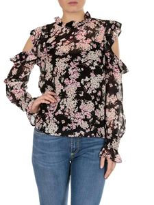 Twin-Set - Floral printed georgette blouse