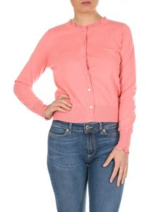 Twin-Set - Cashmere cotton blend cardigan in pink