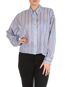Isabel Marant Étoile - Ycao striped boxy shirt