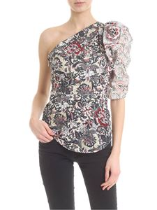 Isabel Marant Étoile - Lemony top with floral pattern