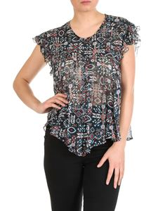 Isabel Marant Étoile - Edison top in black silk