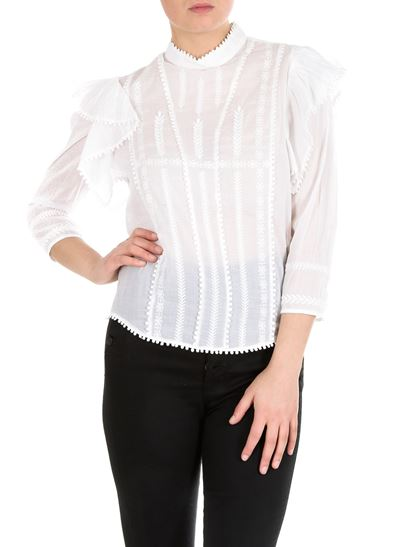 Isabel Marant Étoile - Anny blouse in white lace