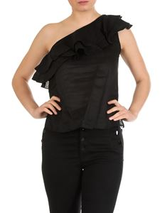 Isabel Marant Étoile - Thomy one shoulder top in black