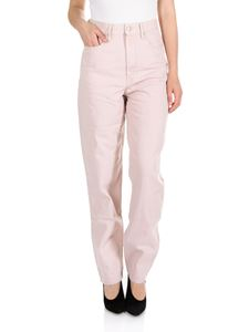 Isabel Marant Étoile - Corsy high-waisted jeans in pink