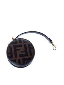 Fendi - Tote bag charm in brown shades