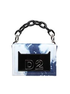 Dsquared2 - Military Punk denim clutch