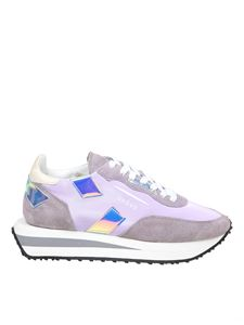 Ghoud Venice - Rush x Low lilac and gray sneakers