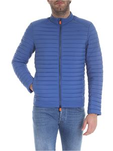 Save the duck - Light blue Save The Duck quilted down jacket