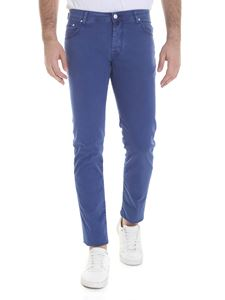 Jacob Cohën - Faded trousers in blue