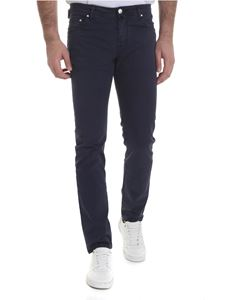 Jacob Cohën - Stretch cotton jeans in blue