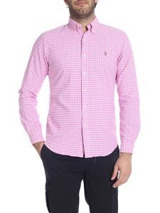 Ralph Lauren - Vichy shirt in white and pink