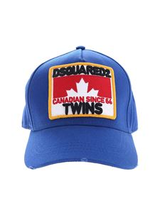 Dsquared2 - Bluette Dsquared2 Twins baseball hat