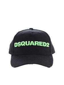Dsquared2 - Black Dsquared2 baseball hat