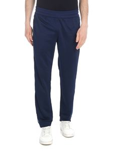 Adidas - Adidas Originals Arena track pants in blue piqué