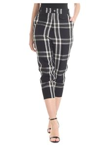 Vivienne Westwood  - Tartan trousers in black and white