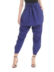 Vivienne Westwood  - Nepal baggy pants in electric blue