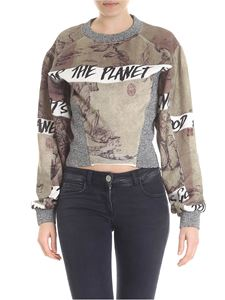Vivienne Westwood  - Chinese Drawing printed sweatshirt in beige