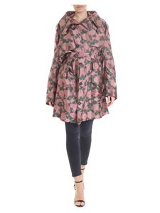 Vivienne Westwood  - Pink overcoat with floral pattern