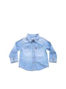 Levi's - Light blue Barsto chambray shirt