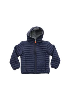 Save the duck - Dark blue hooded jacket