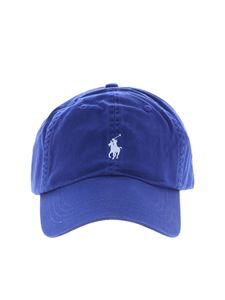 POLO Ralph Lauren - Bluette baseball cap with logo