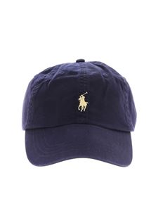 POLO Ralph Lauren - Blue baseball cap with logo