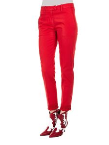 Dondup - Perfect chino trousers in red