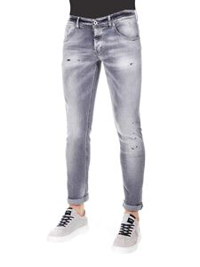 Dondup - Ritchie jeans in light gray cotton