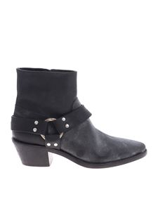 Golden Goose Deluxe Brand - Bretagne boots in genuine black leather