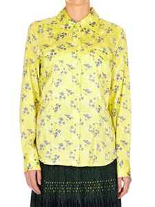 Baum Und Pferdgarten - Printed blouse in yellow silk