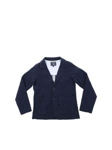 Woolrich - Cotton jacket in blue