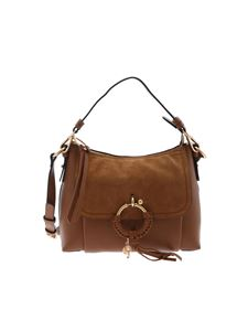 See by Chloé - Joan small shoulder bag in caramel brown