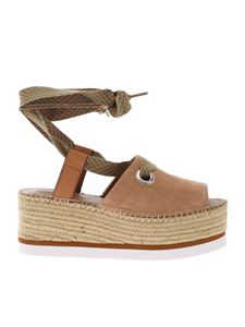 See by Chloé - Glyn Amber sandals in beige sandals