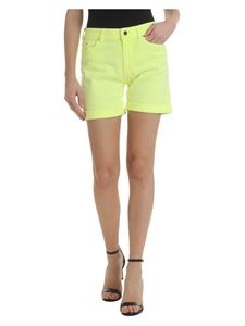 Karl Lagerfeld - Neon yellow rolled shorts