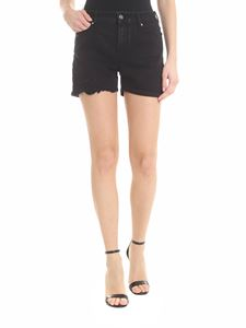Karl Lagerfeld - Black vintage 5-pockets shorts