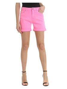Karl Lagerfeld - Neon bright pink rolled shorts