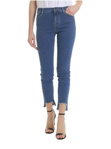 Karl Lagerfeld - Blue 5-pockets jeans