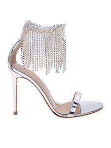 Gianvito Rossi - Jasmine sandals in silver leather