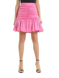 MSGM - Skirt in pink with drapery